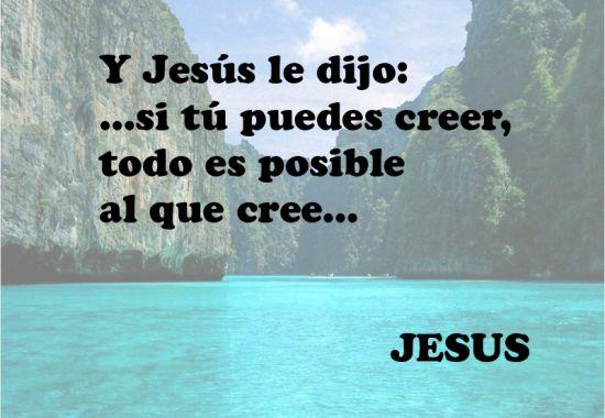SOÑAR LA VIDA: FRASES DE JESÚS DE NAZARET
