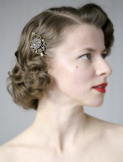 vintage styling tips #vintage #style #hair