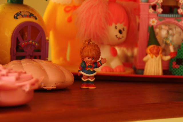 figurine rainbow brite