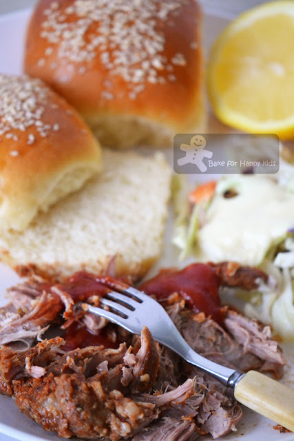 pulled pork sandwiches Martha Stewart