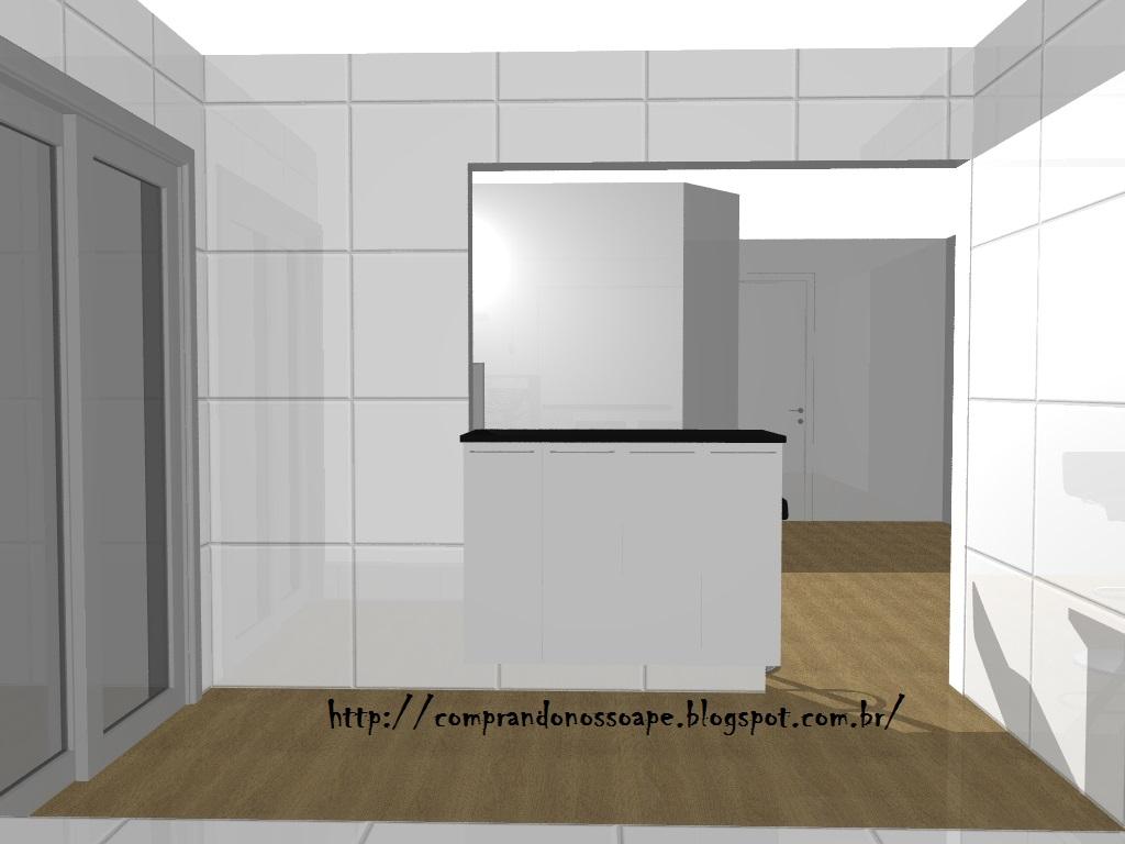 #625238 Comprando nosso Apê : Móveis planejados Parte 5 Cozinha 1024x768 px Qual A Altura De Balcão Para Cozinha Americana #947 imagens