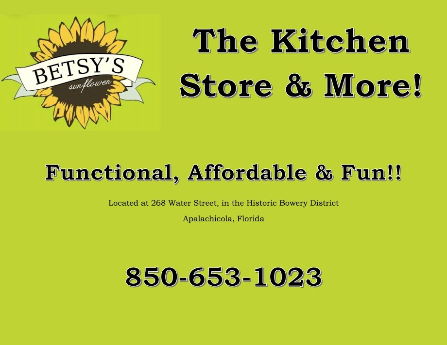 <center>Betsy&#39;s Sunflower<br> The Kitchen Store &amp; More!</center>