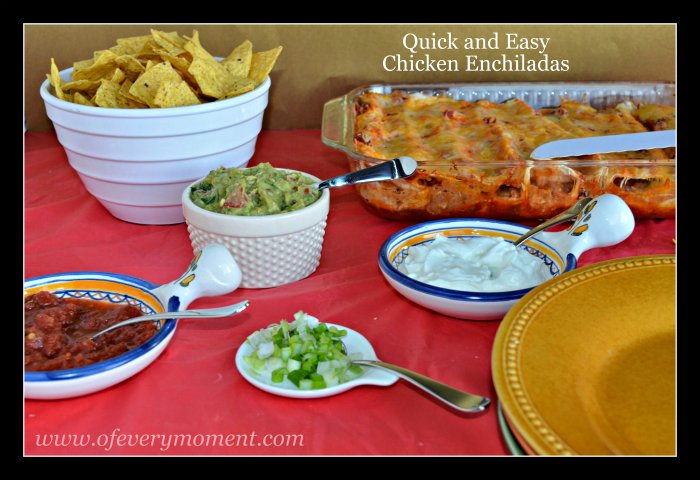 Mexican food, enchiladas