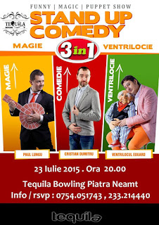 Stand-Up Comedy Piatra Neamt Joi 23 Iulie