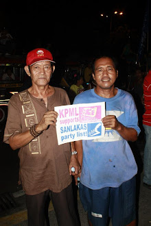KPML supports SANLAKAS party list