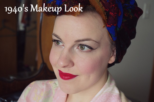 Butterflylovessnapdragons Tutorial Tuesday 1940s Makeup - 1940-makeup