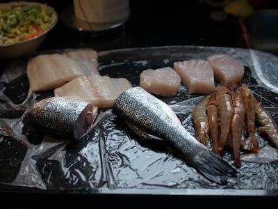 top class tuna, shirmp