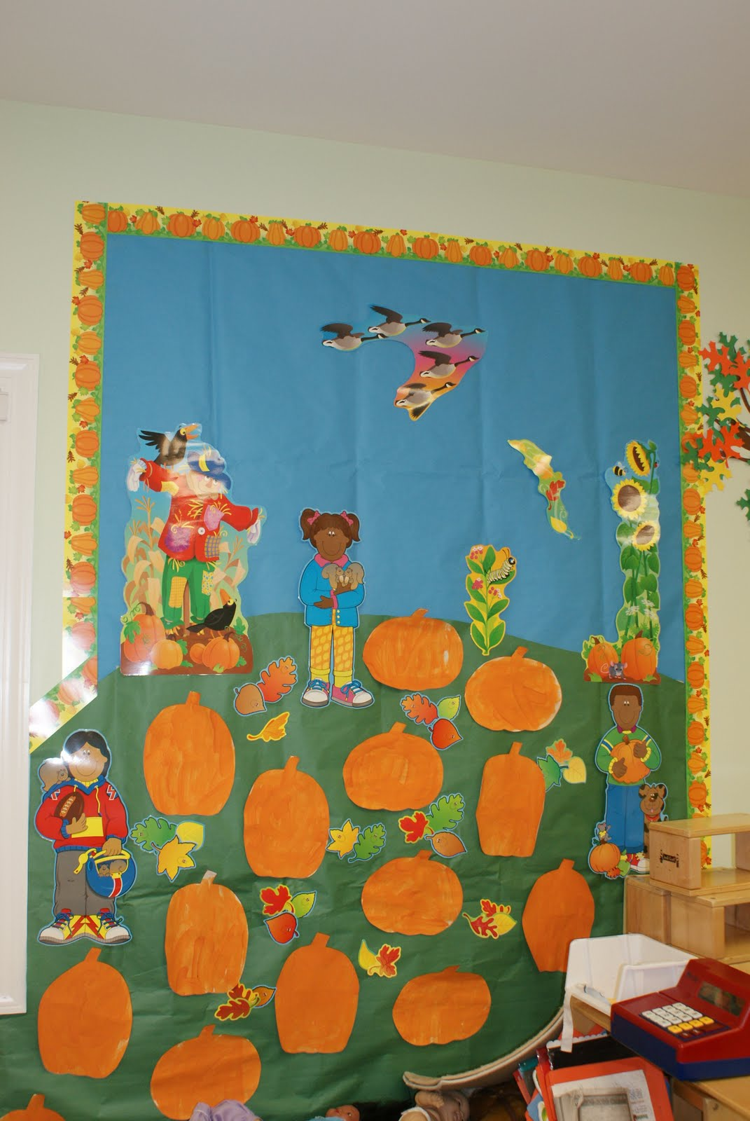 Spring decorations for classroom door my classroom door decorated - Crafts For Preschoolers Bulletin Boards