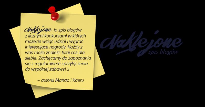 """Spis blogów """"Naklejone"""" z konkursami :>"""