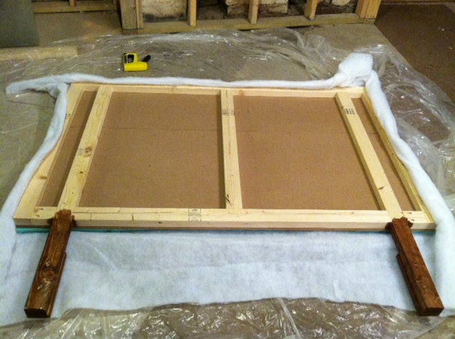 Diy make your own headboard redovercoat com How to make your own headboard