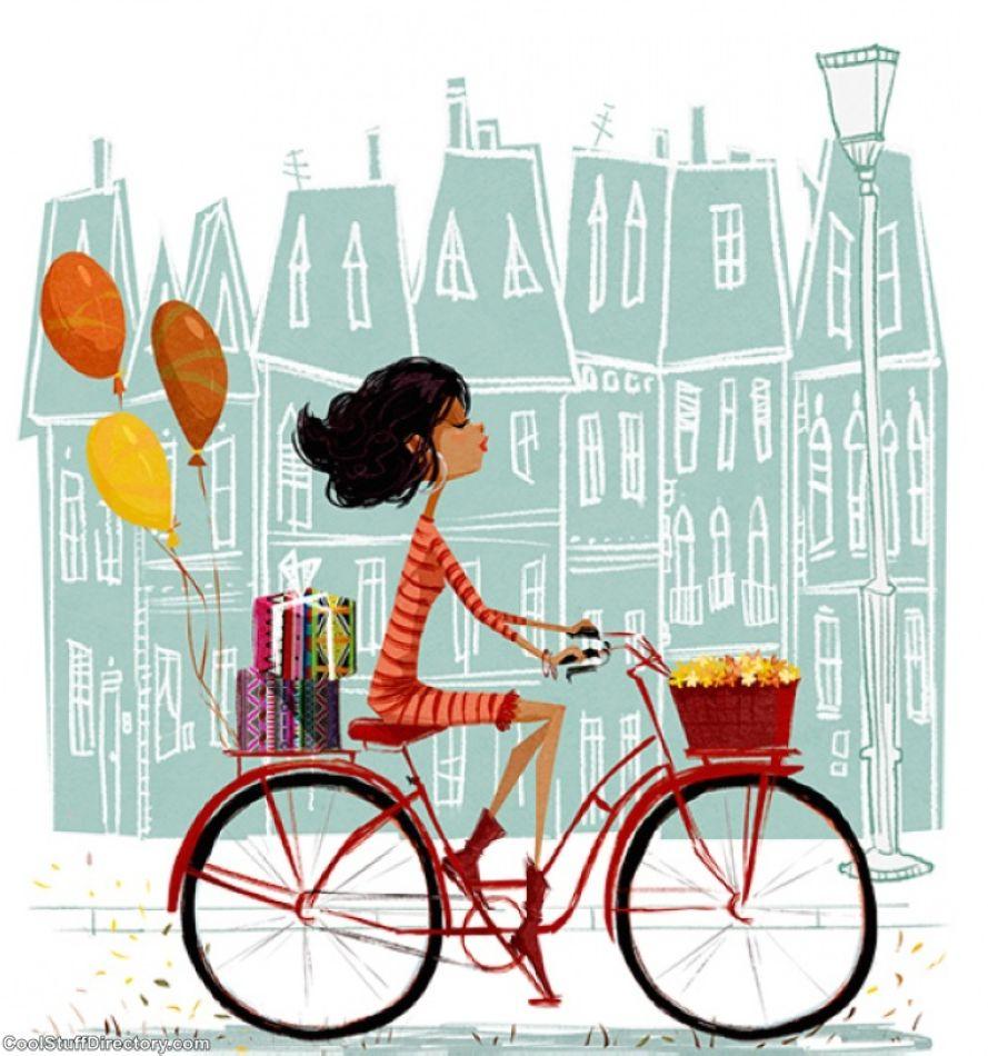 Поздравление с днем рождения велосипедистку