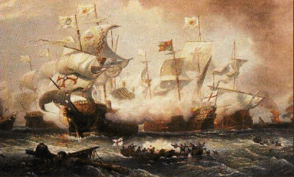 the defeat of the spanish armada Spanish armada was the strongest naval fleet in all europe however, these thoughts were proved wrong in the year 1588 queen elizabeth of england came with her.