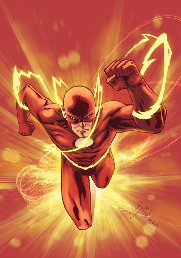 It's just a picture of Declarative Flash Superhero Images