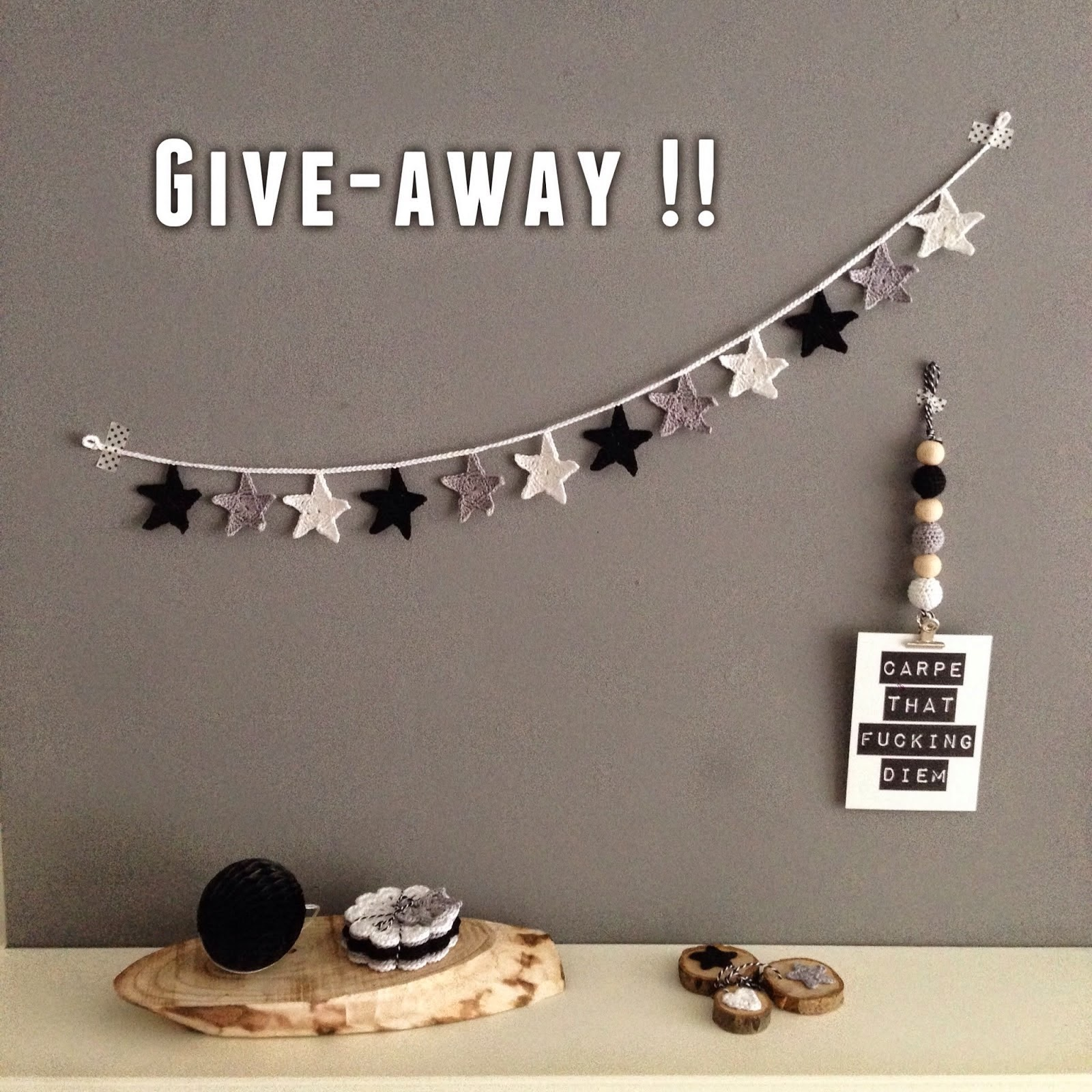 give-away bij :angels handmade with love