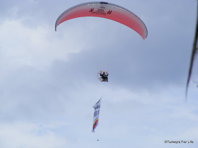 Motorised Paraglider in Çalış