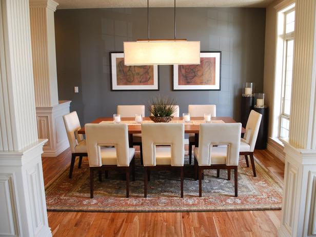Transitional Dining Room Colors 616 x 462