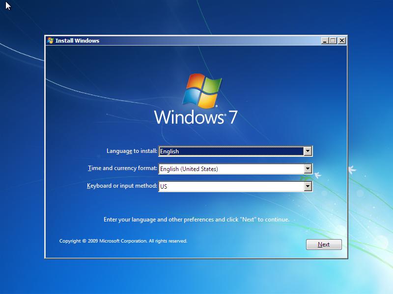 Cara Install Windows 7 (Lengkap Dengan Gambar)