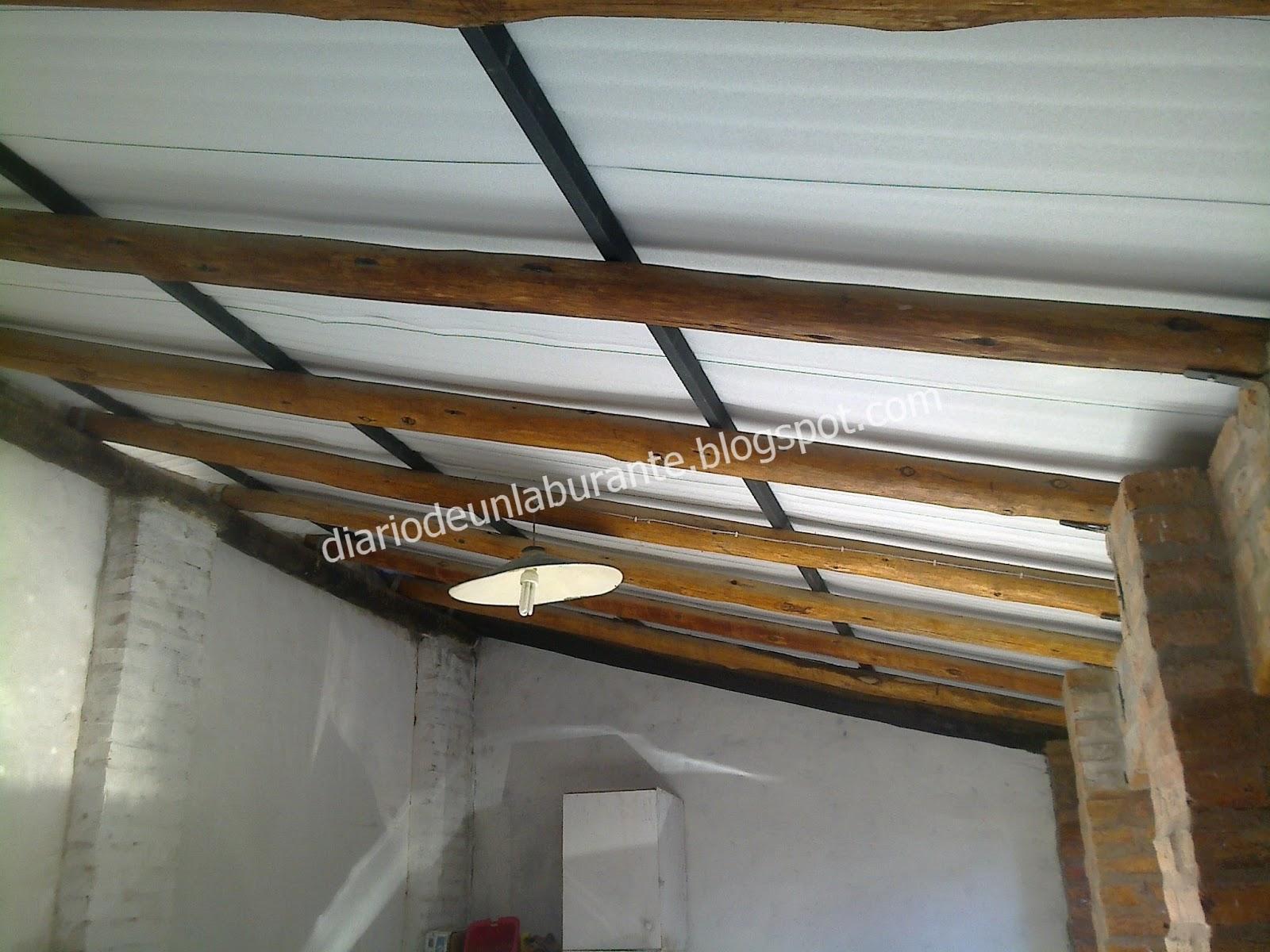 garage ceiling insulation ideas - Diario de un Laburante Techo de Chapa en Garage
