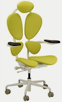 Green Chakra Chair by Eurotech Seating