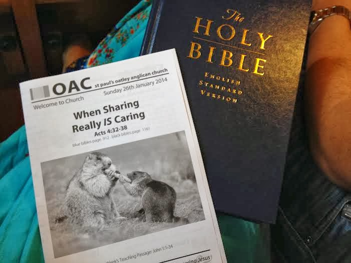 Church Sundays - When Sharing Really Is Caring