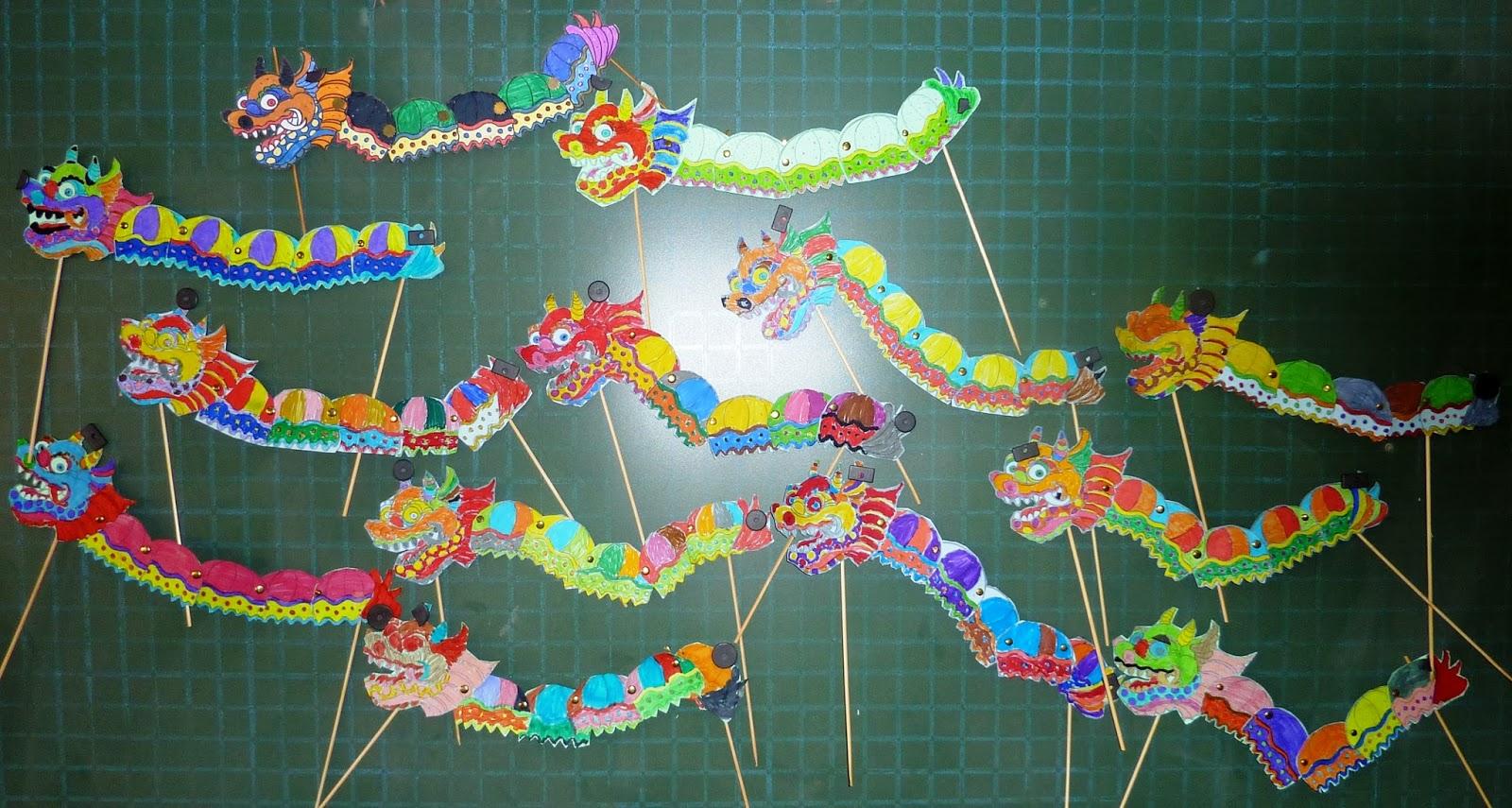 1er CICLO DE PRIMARIA: Dragónes Chinos