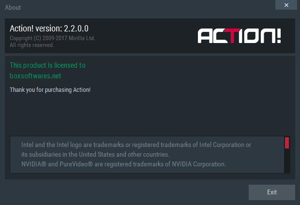 Mirillis Action 2.2.0 Crack