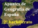 Geografía de España (2º bach.)   Apuntes, prácticas y EBAU