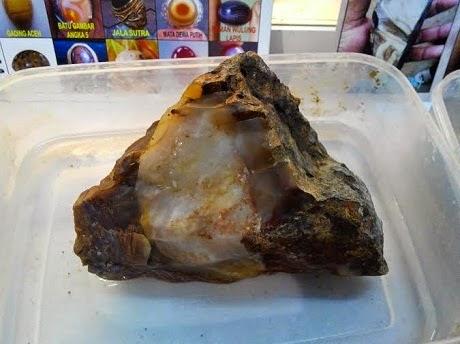 Harga Batu Cincin Panca Warna Raja Ampat, Rp 15 JutaKg