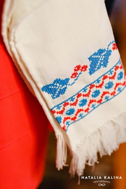 prawosławny ręcznik obrzędowy Saki