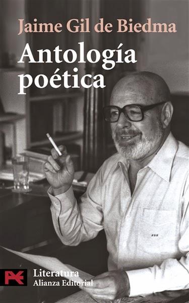 """""""antología poética"""" - J. Gil de Biedma."""