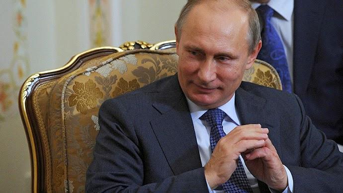 Russian President Vladimir Putin. (RIA Novosti/Michael Klimentyev)