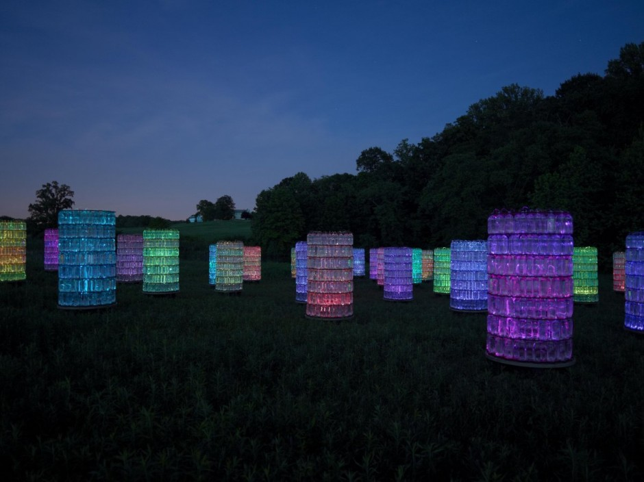 loveisspeed.: British light artist Bruce Munro has announced