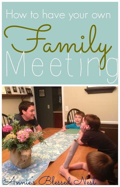 """family meeting"", ""family home meeting"""