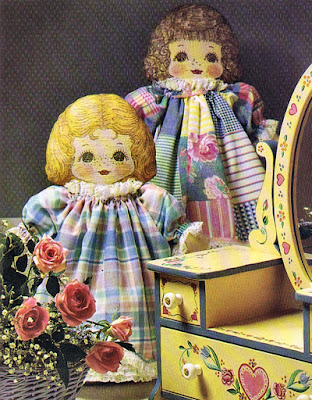 Making Two Victorian Dolls