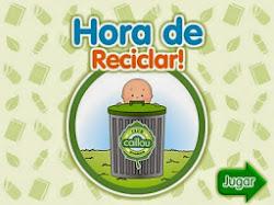 Juego sobre el reciclado