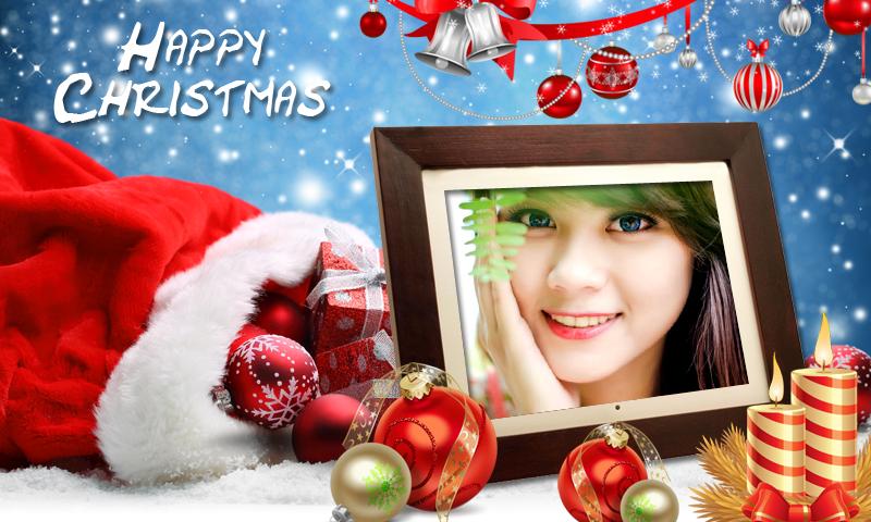 christmas photo frames new hd app screenshots