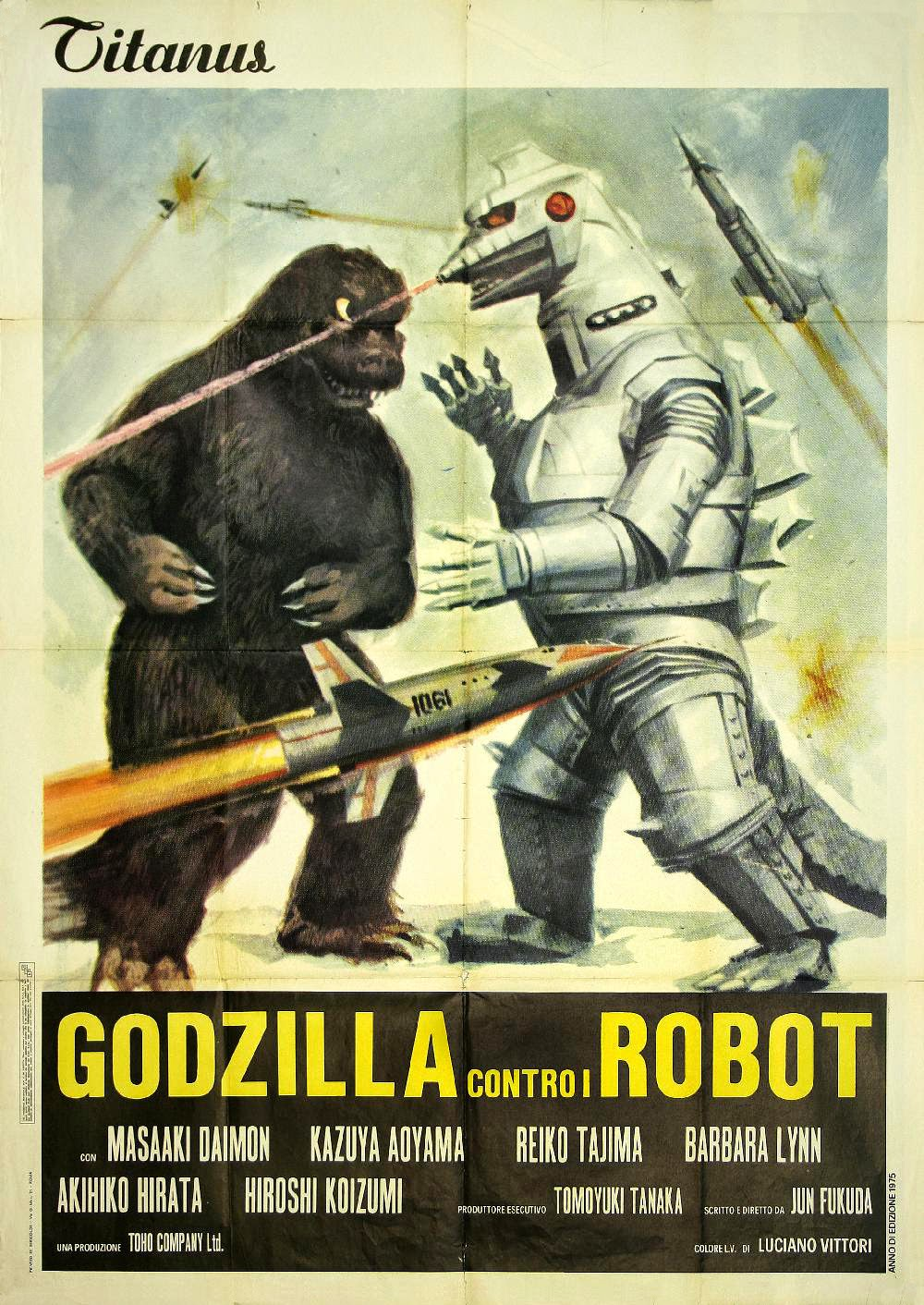 Film Thoughts: Series Report Card: Godzilla (1974)