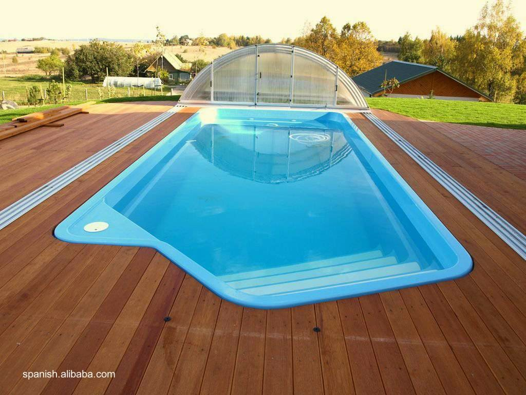 Arquitectura de casas distintos tipos de piscinas for Piscinas de fibras