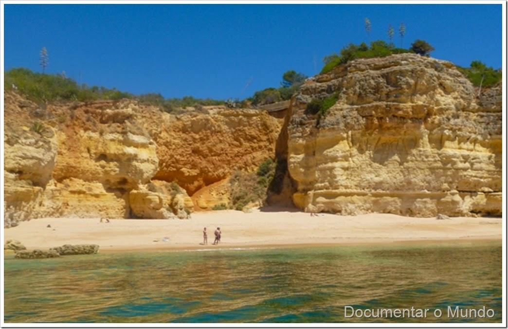Praia do Pau; Férias Algarve; Grutas Marinhas; Sea Caves; Grotten Fahrt