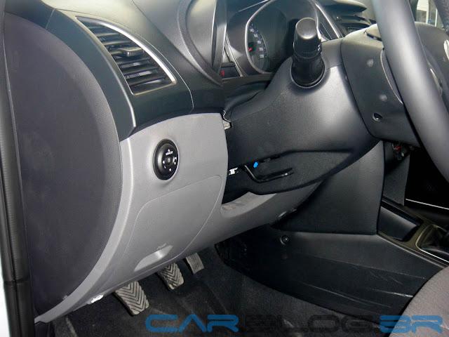 Hyundai HB20 - acabamento ainda inferior ao observado no VW Gol