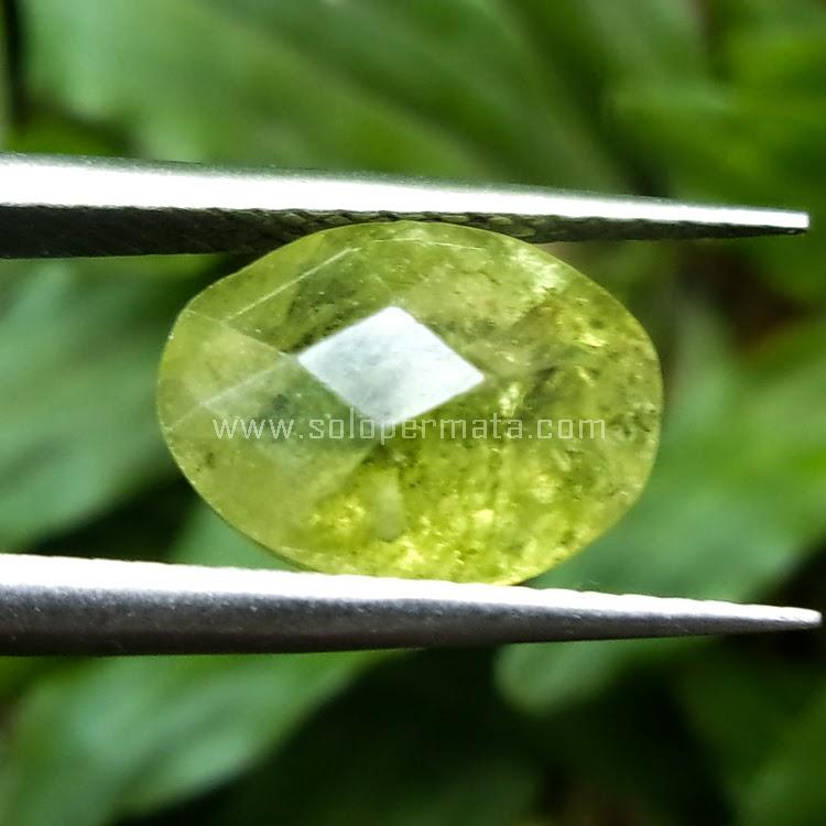 Batu Permata Green Peridot - SP507