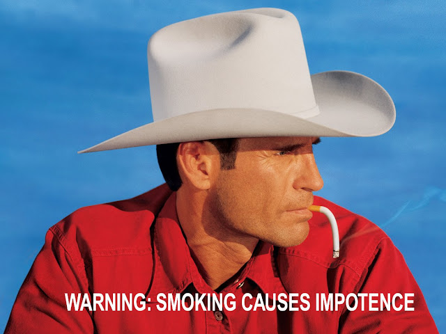 Warning: Smoking causes impotence