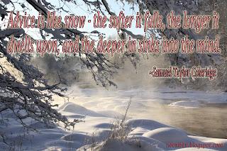 ADVICE A SNOW WALLPAPER