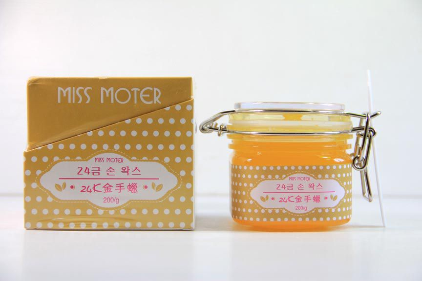 Miss Moter Gold and Milk Hand Wax Perawatan Kulit Tangan dan Kaki