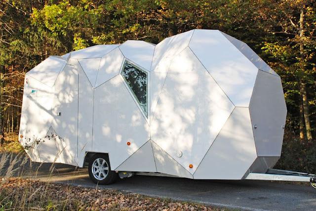 Green Pear Diaries, arquitectura, architecture, casa rodante, caravana, mobile home, Mehzeller