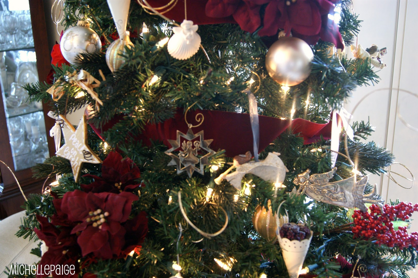 Michelle paige blogs decorating artificial trees for Artificial cranberries decoration