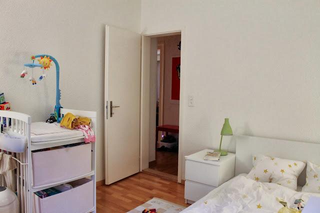 Swiss Lark Rearranging Furniture