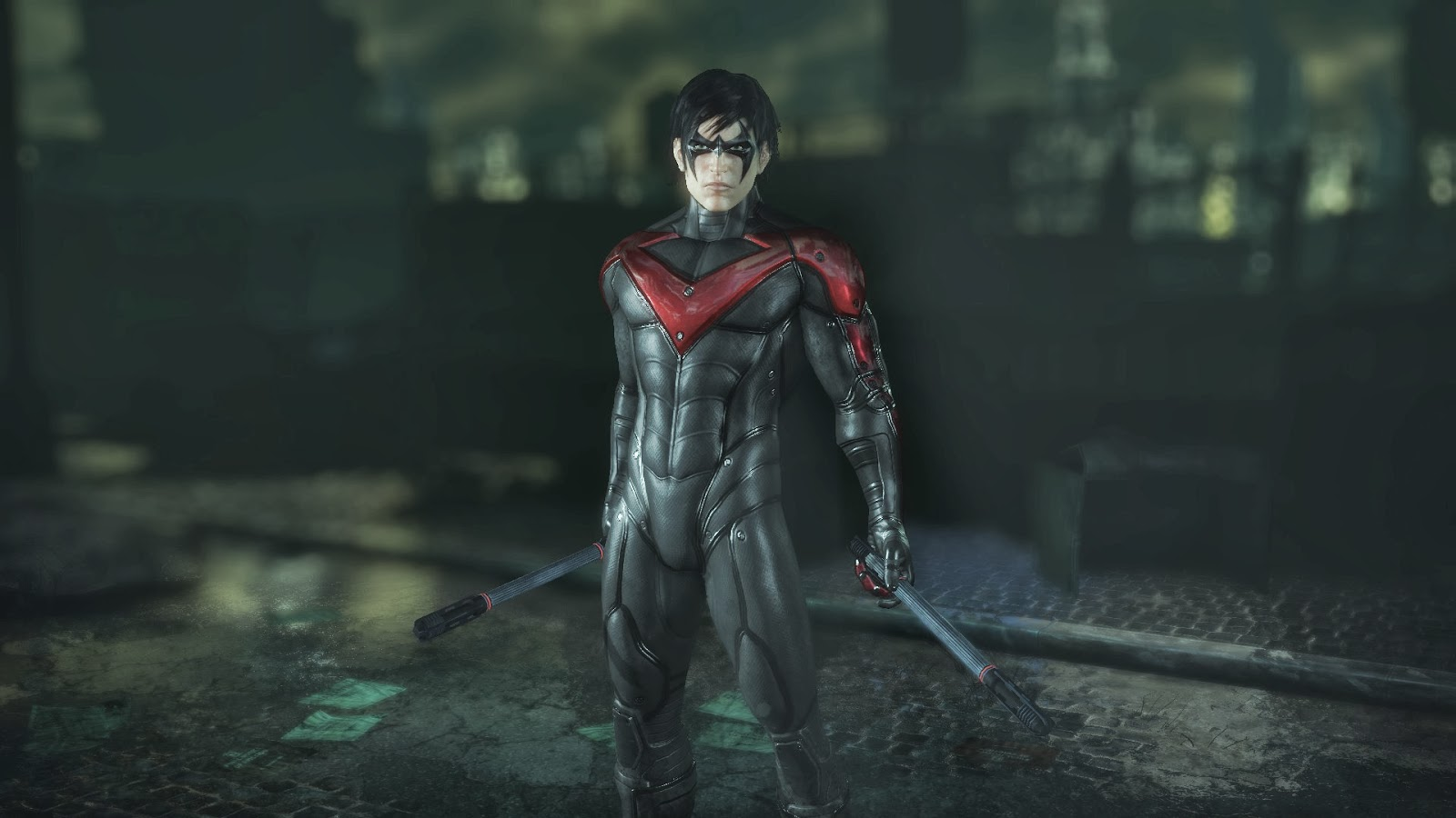 Nightwing Arkham City Skins