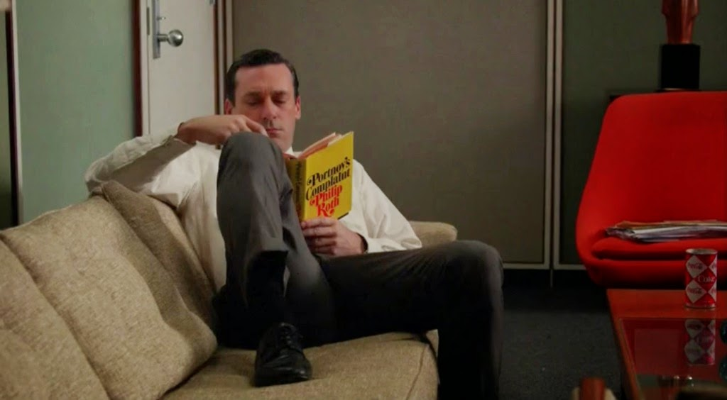 Don Reads in his office