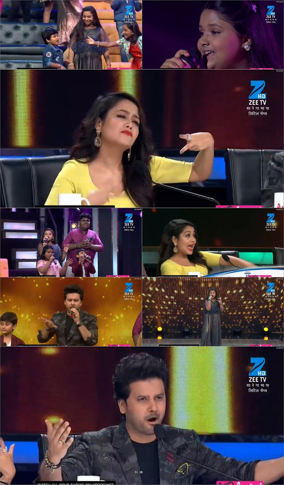 Sa Re Ga Ma Pa Lil Champs 08 October 2017 HDTVRip 262MB 480p at gencoalumni.info